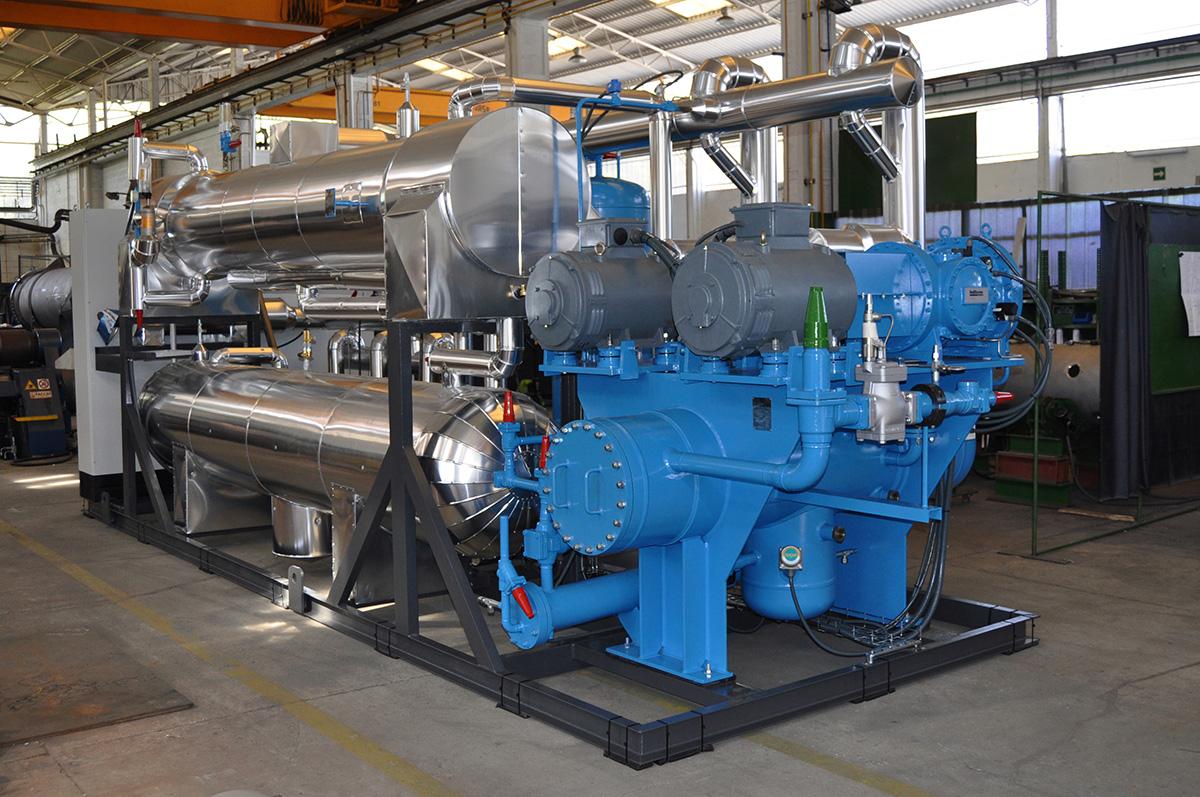 Unités Motocompresseures CO2-NH3 (vue NH3)